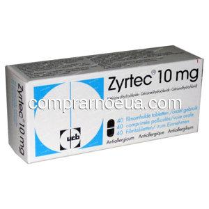 Comprar  Zyrtec online en farmacia